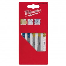 Набор полотен для лобзиков MILWAUKEE (5 шт.)